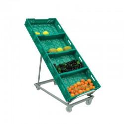 Expositor para caixas de Fruta