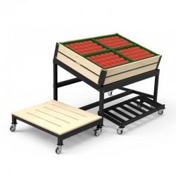 Expositor de Fruta e Legumes para Loja