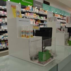 Expositor para Balcão de Farmácia