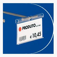 Etiquetas porta-preço